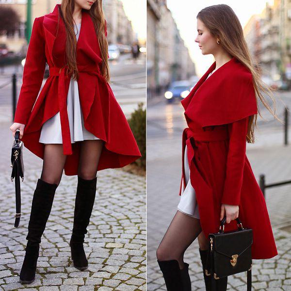 креативное пальто