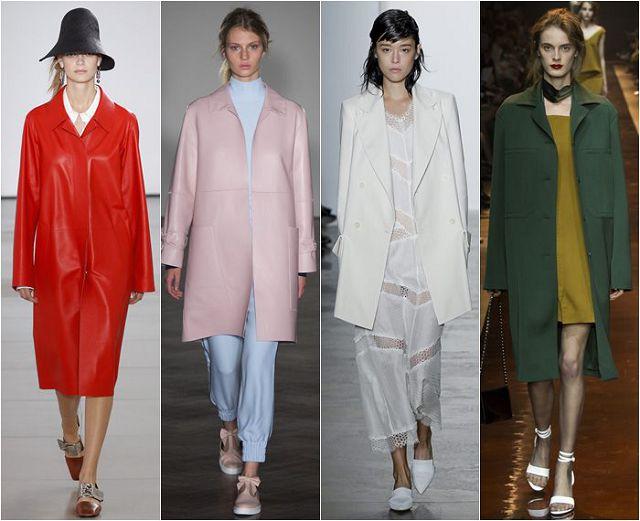 модные пальто для весны