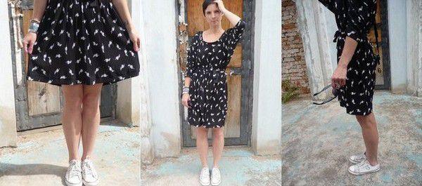 Цветные платья с чем носить фото