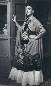 Фрида в национальном костюме