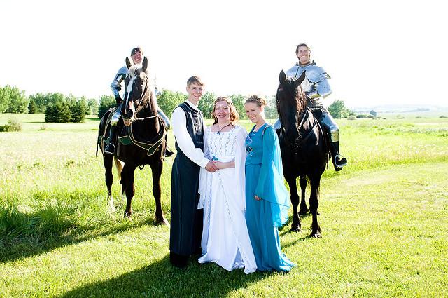 историческая свадьба