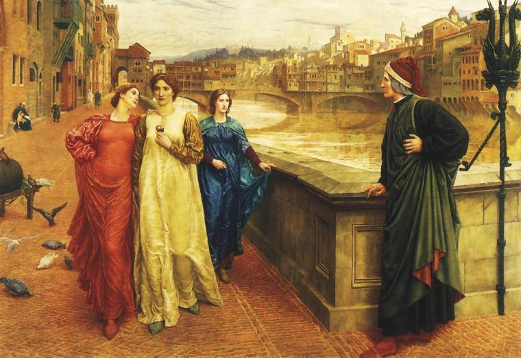 Данте и Беатриче:  любовь сквозь века