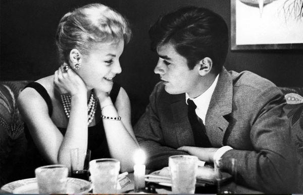 Ален и Роми за столом