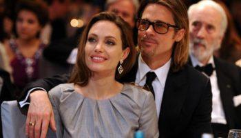 Анджелина с Питтом рядом