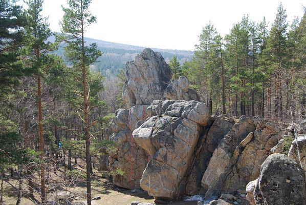 В горах Башкирии