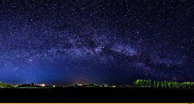 Наблюдение за ночным небом