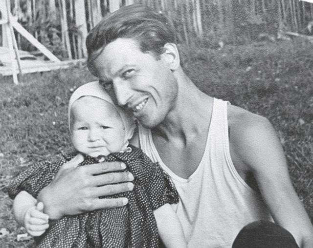 Тамара Глоба с отцом