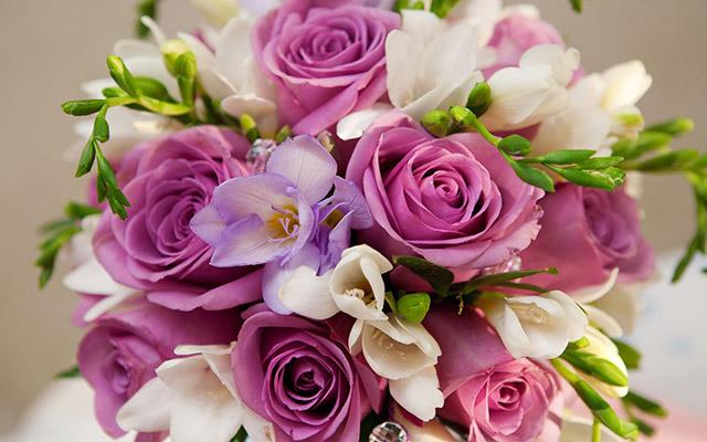 для девушки цветы