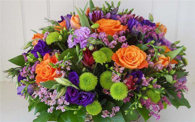 Букеты цветов на юбилей — photo 9