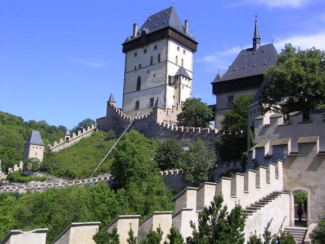 Замок Карлштейн 2