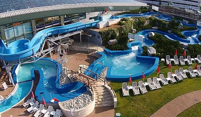 Аквапарк AquapalacePraha