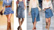 С чем носить джинсовые предметы гардероба