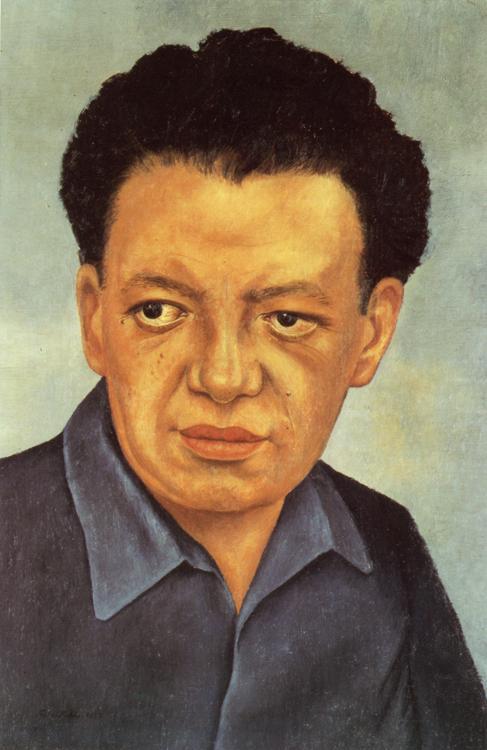 Портрет Диего Ривера