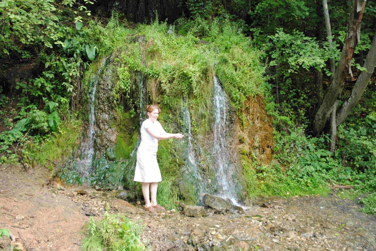 Водопад «Радужный»