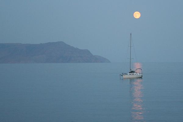 Крым закат на море
