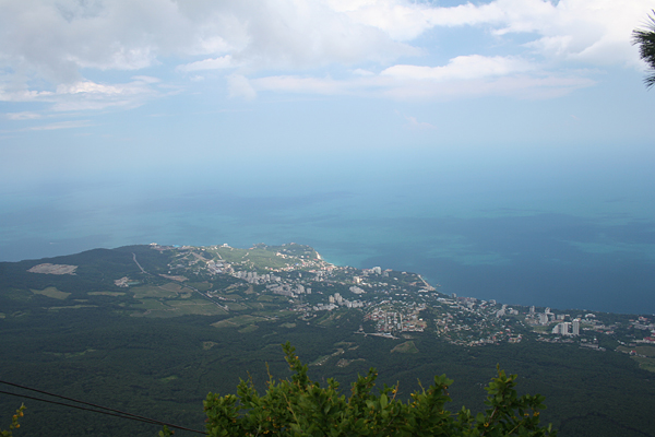 Крым Панорама с горы
