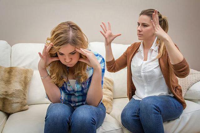 Конфликт с подростком