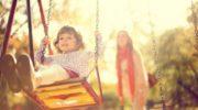 Счастливые дети и родители
