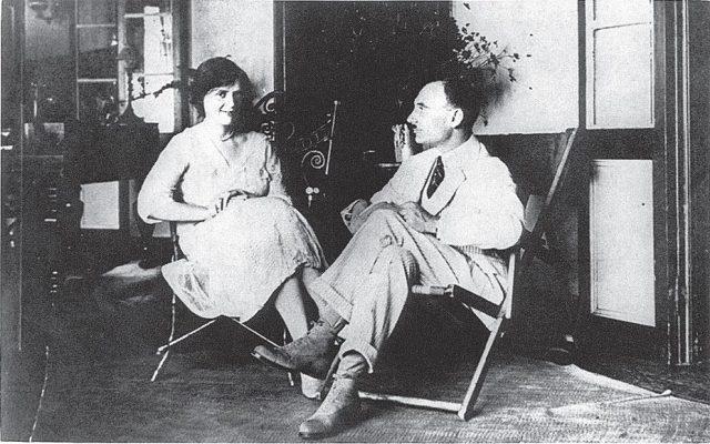 Луи Арагон и Эльза Триоле на Таити