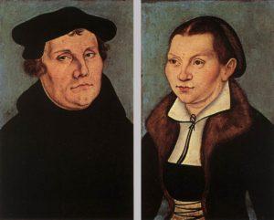 Мартин Лютер и Катерина