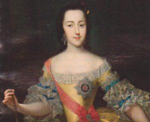 Екатерина Великая в юности