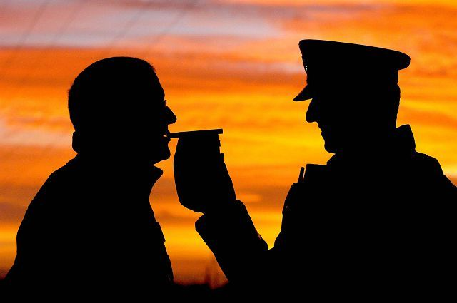 Проверка на алкоголь