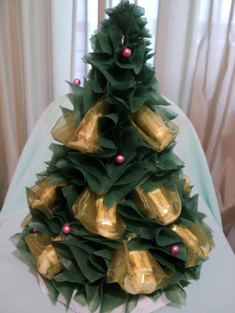 Как сделать елку из конфет своими руками 91