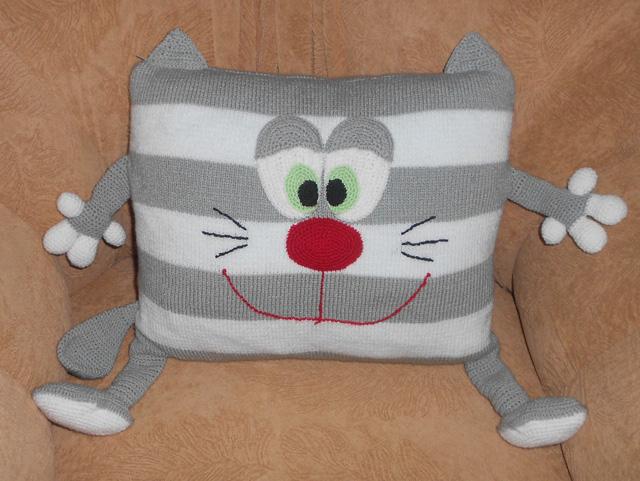 Игрушка подушка своими руками мастер класс