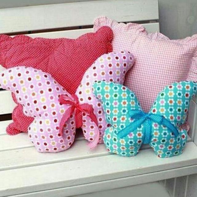 Своими руками из ткани подушки игрушки