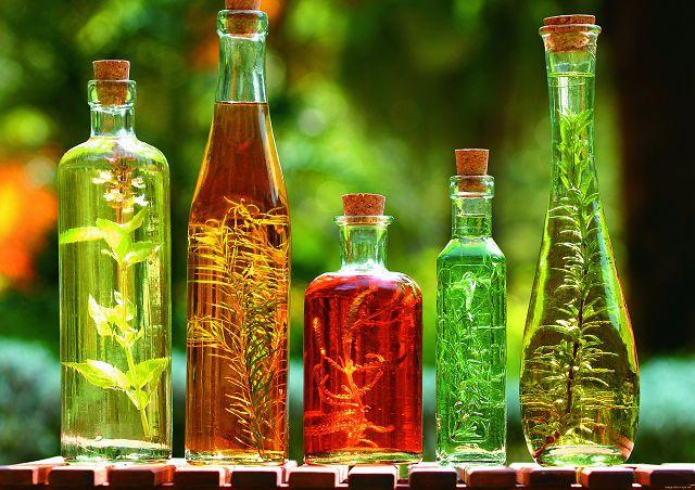 Растительное масло в еде