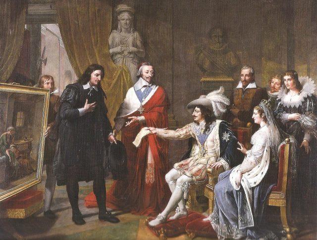 Королева Анна и Ришилье