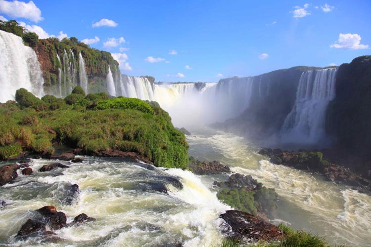 Водопады Игуасу, Бразилия 2