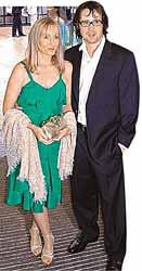 Джоан Роулинг с мужем
