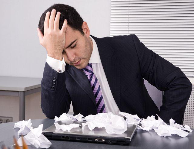 Неудача на работе