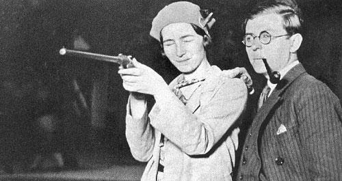 С Сартром, Париж, 1924 год