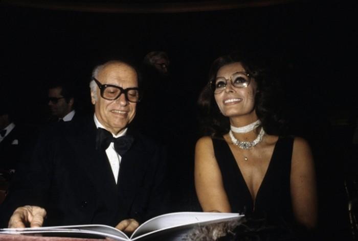 Софи Лорен и муж