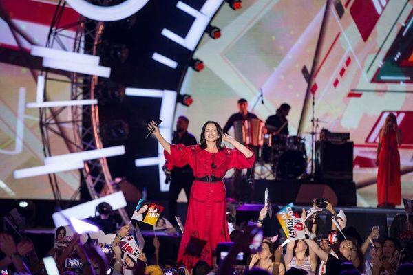 София на сцене фестиваля Жара