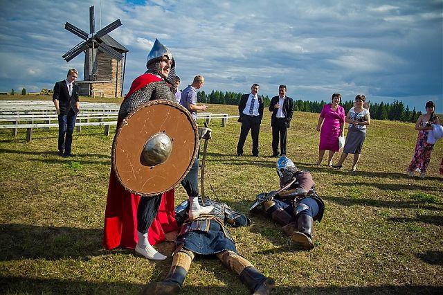 Свадьба в стиле Средневековья