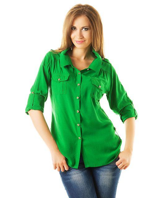 Одежда в зеленом цвете