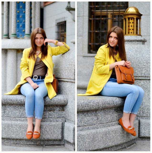 С чем сочетается желтый цвет в одежде 4
