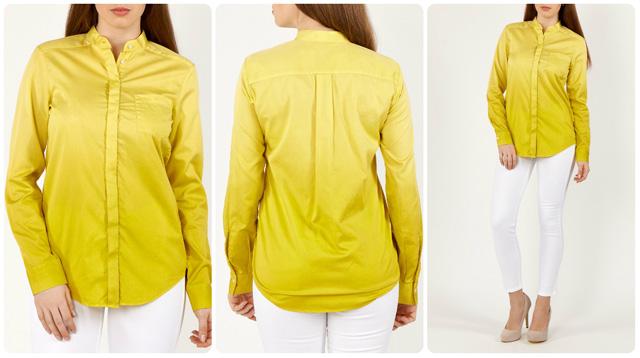 С чем сочетается желтый цвет в одежде 6