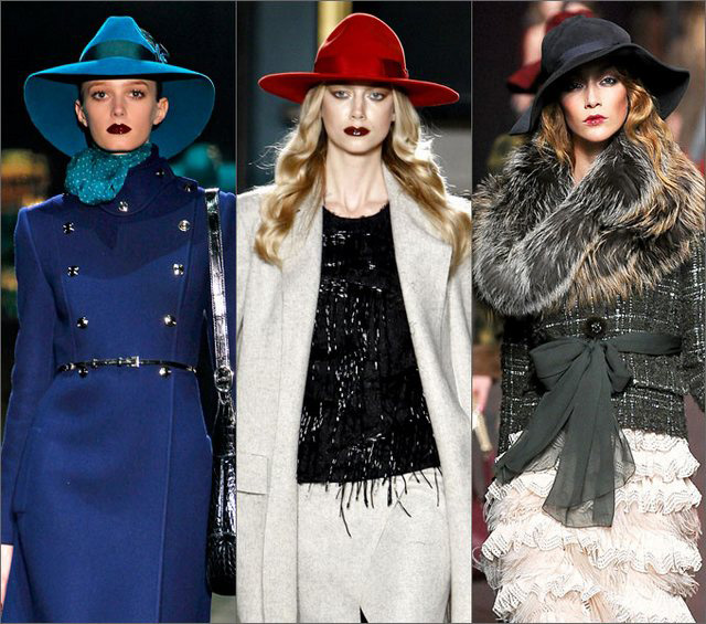 Как и с чем носить женские шляпы 3