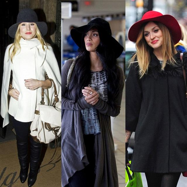 Как и с чем носить женские шляпы 4