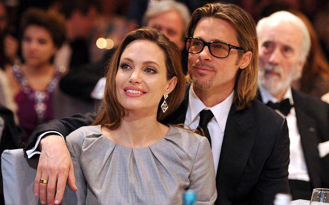 Бред Питт и Анжелика Джоли
