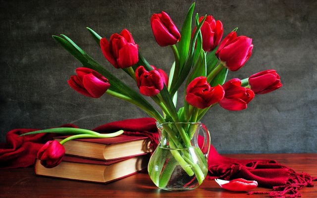 Прекрасные тюльпаны